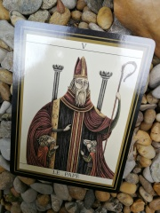 Le Pape et ses moines-moutons !